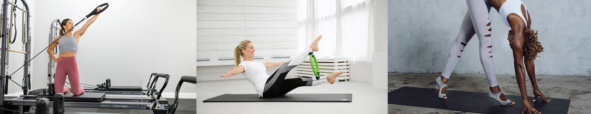 Exercice Allegro - Mise en situation pilates circle compact - Utilisation chaussettes